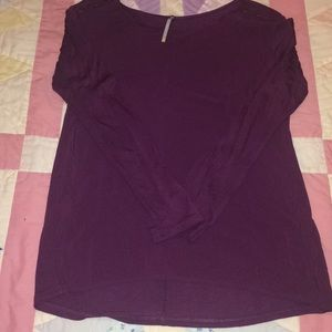 Tops - Dark purple long sleeve top